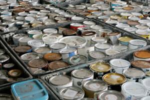 Paint Disposal Household Hazardous Waste News Novak