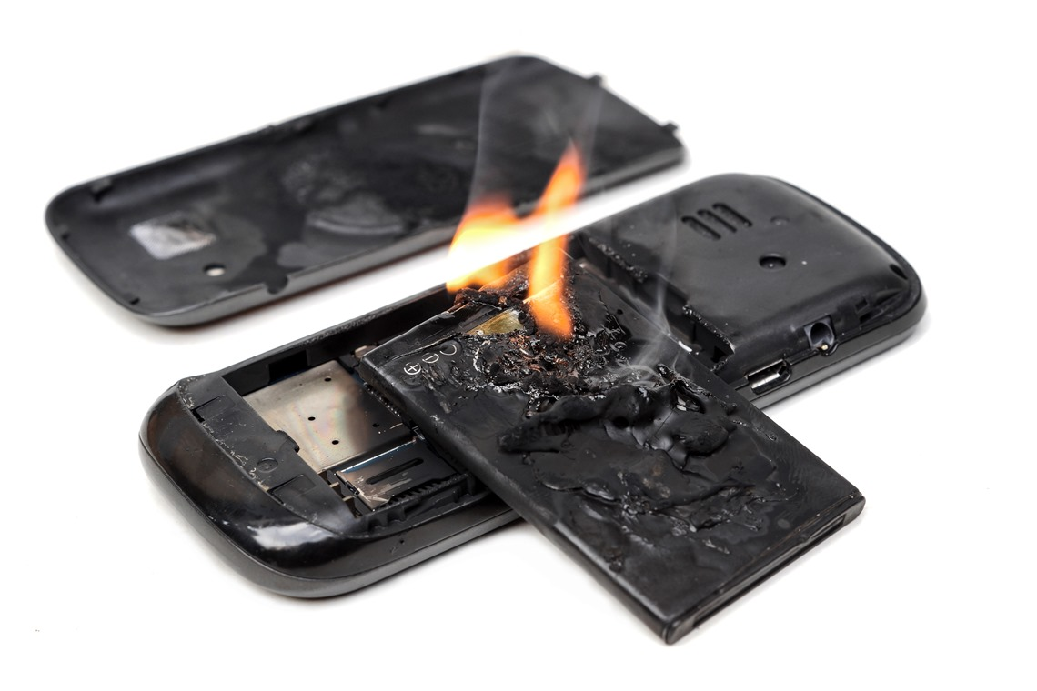 Cell Phone Fire